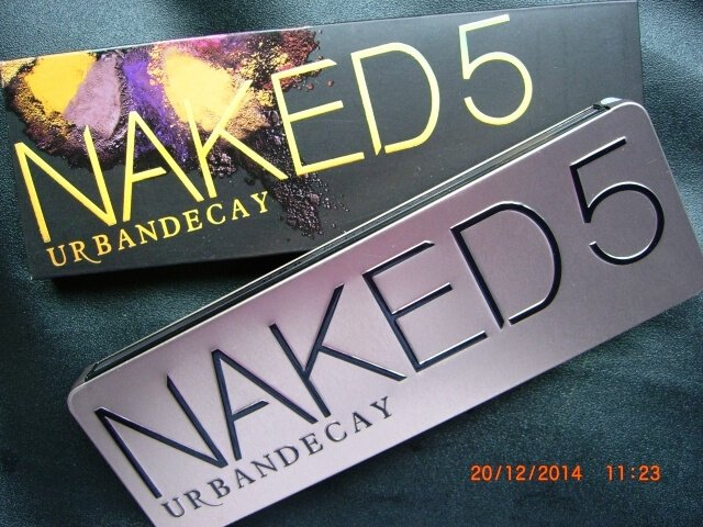 Urban Decay Naked 5 Eyeshadows