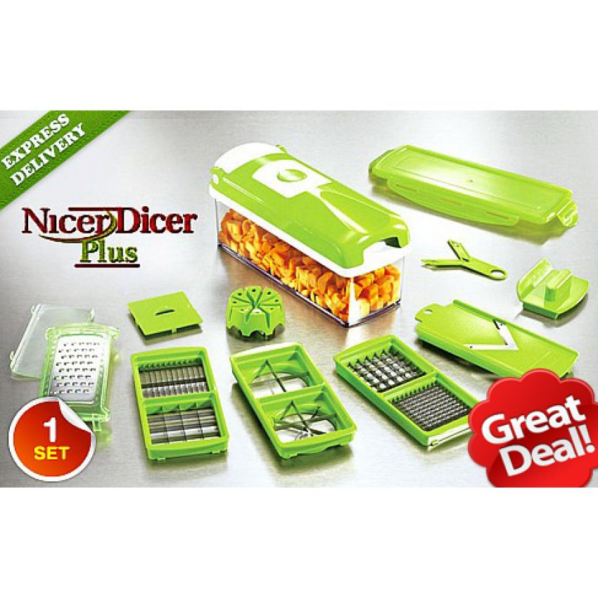 Original Nicer Dicer Plus Chopper in Pakistan