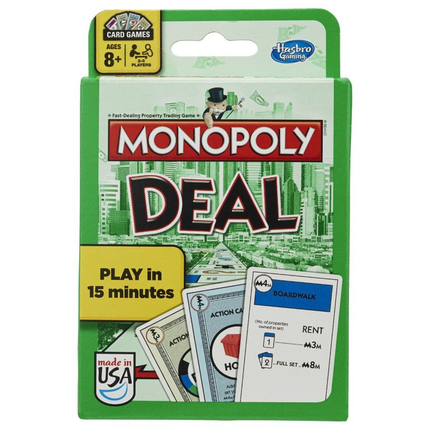 Monopoly Deal Card Game Hasbro in Pakistan
