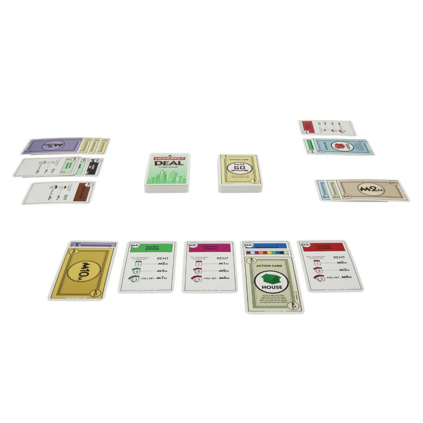 Monopoly Deal Card Game Hasbro