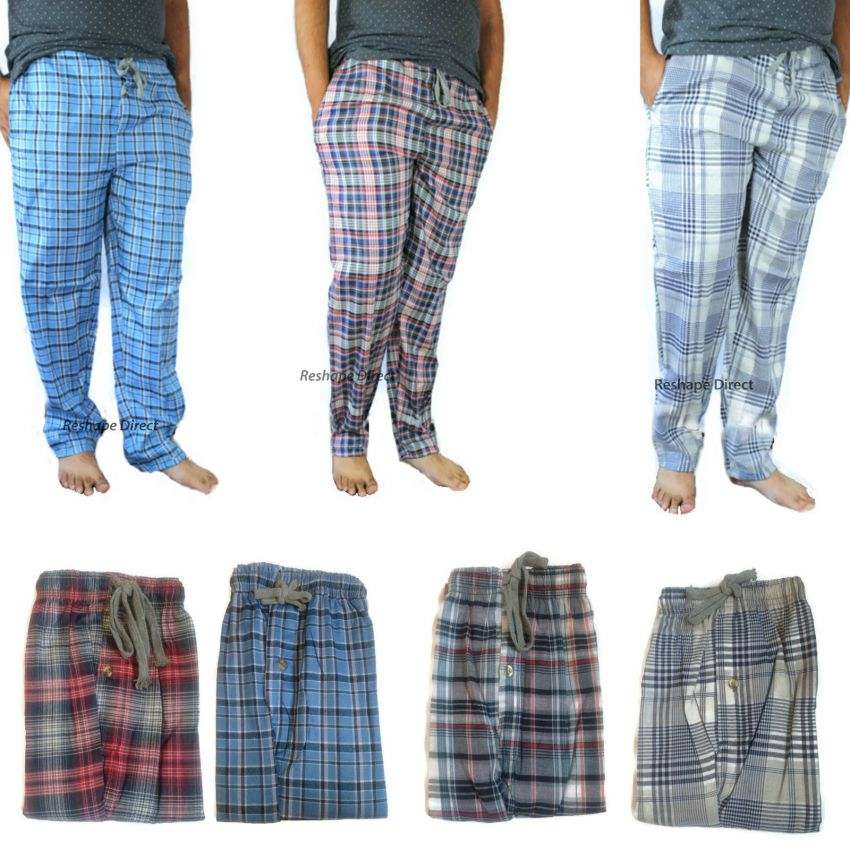 Pack of 4 Checkered Trousers for Men in Pakistan