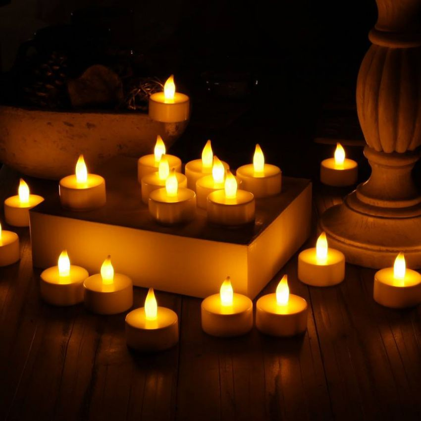 Pack of 10 LED Tealight Candles in Pakistan