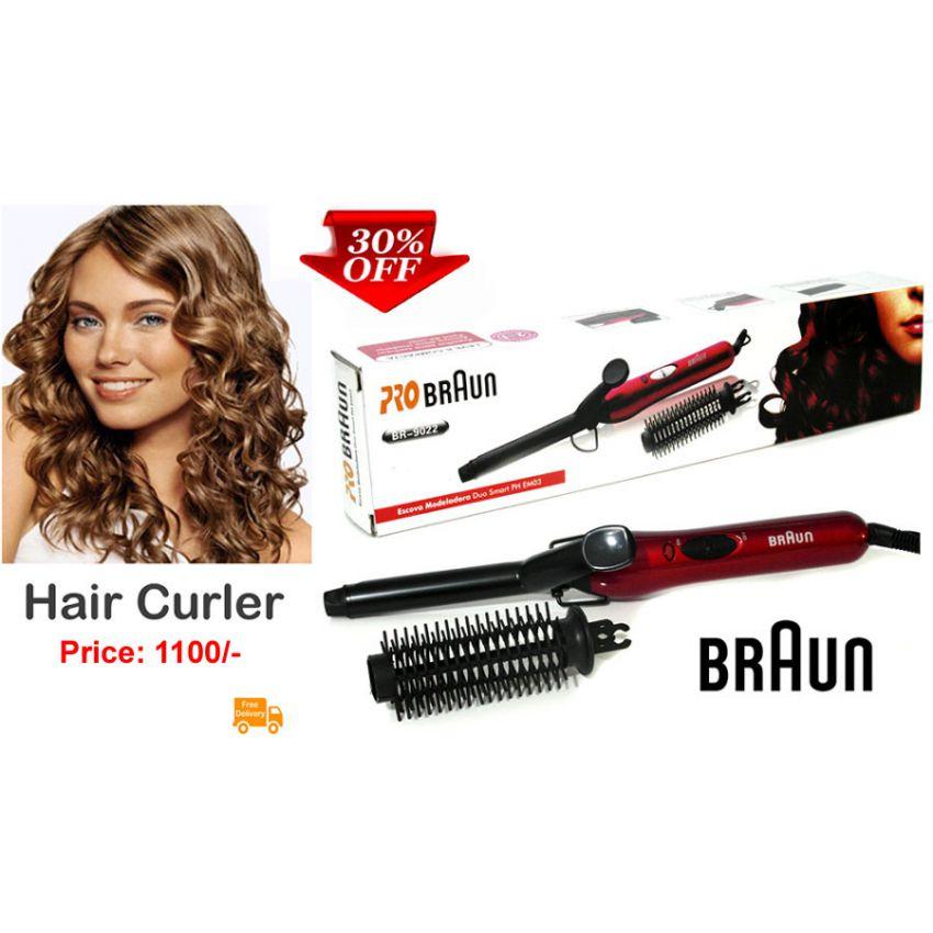 Buy Braun Hair Curler Online In Pakistan Getnow Pk