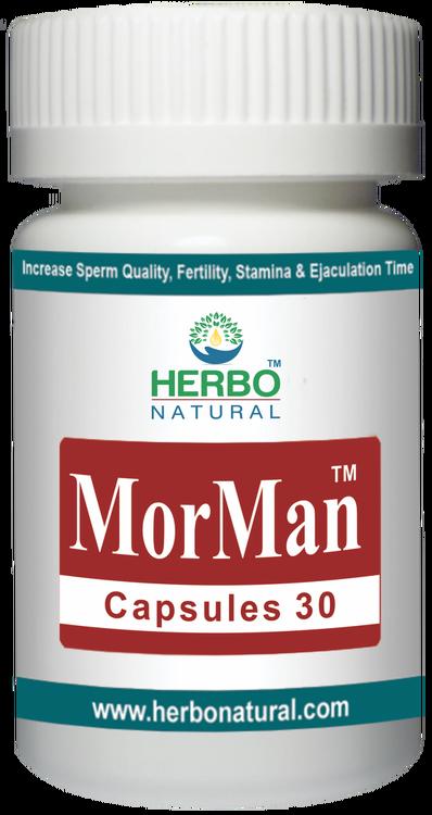Herbo Natural MorMan 30 Capsules