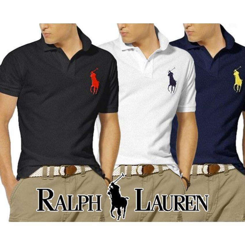 3 Ralph Lauren Polo T-Shirts Pack In Pakistan