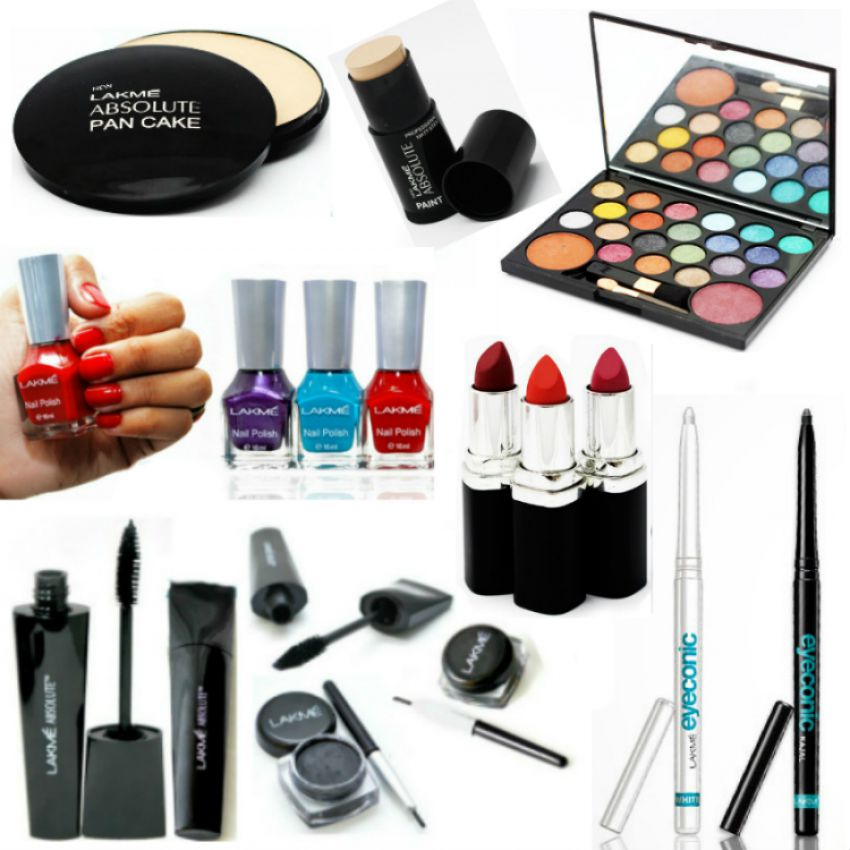 Combo of 14 Lakme Products for Her in Pakistan