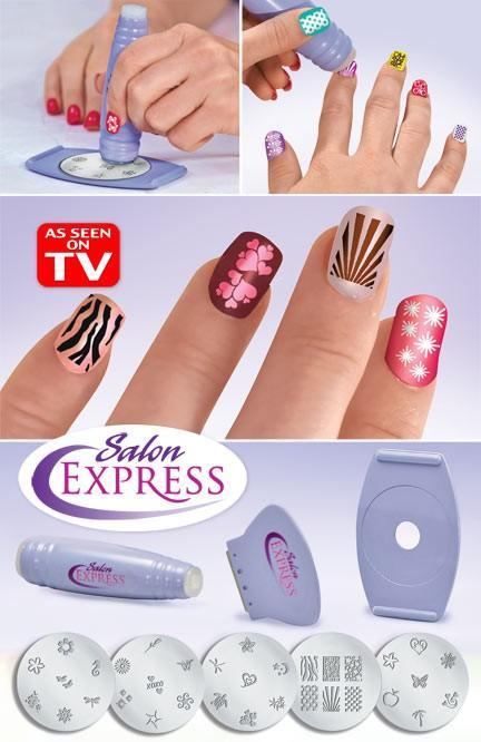 Salon Express – Nail Art Stamping Kit