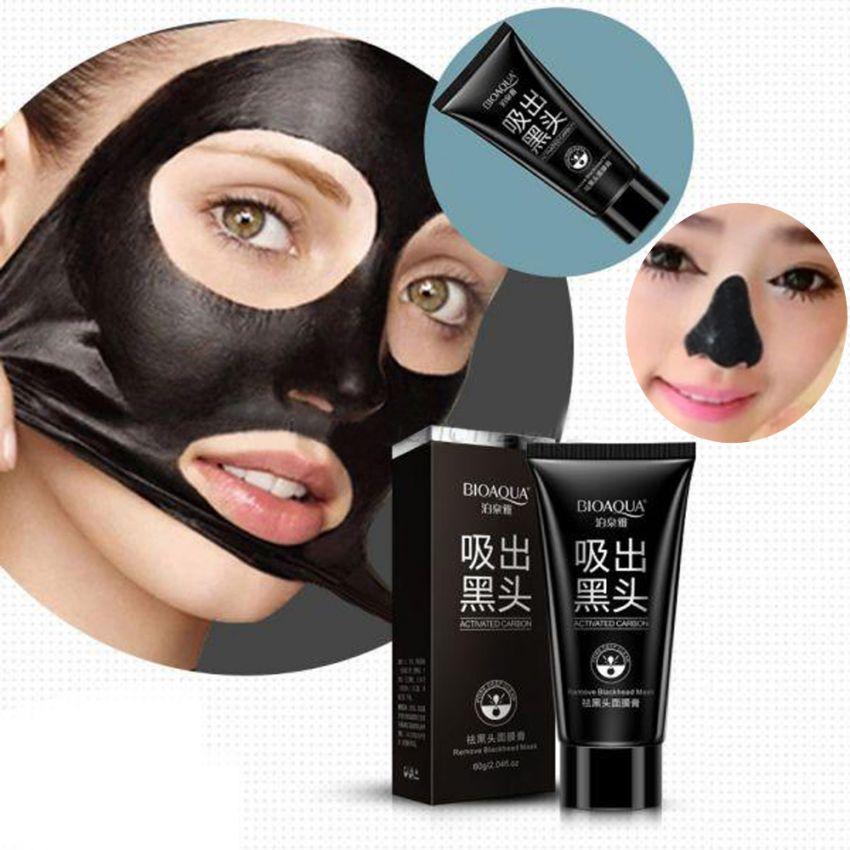 Charcoal Peel Off Whitening Black Mask in Pakistan