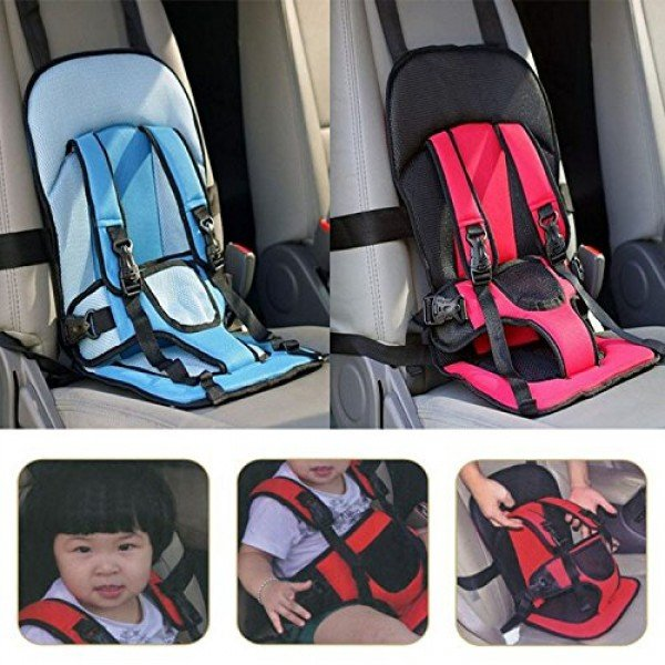Multi Function Baby Car Seat Cushion With Safety Belt