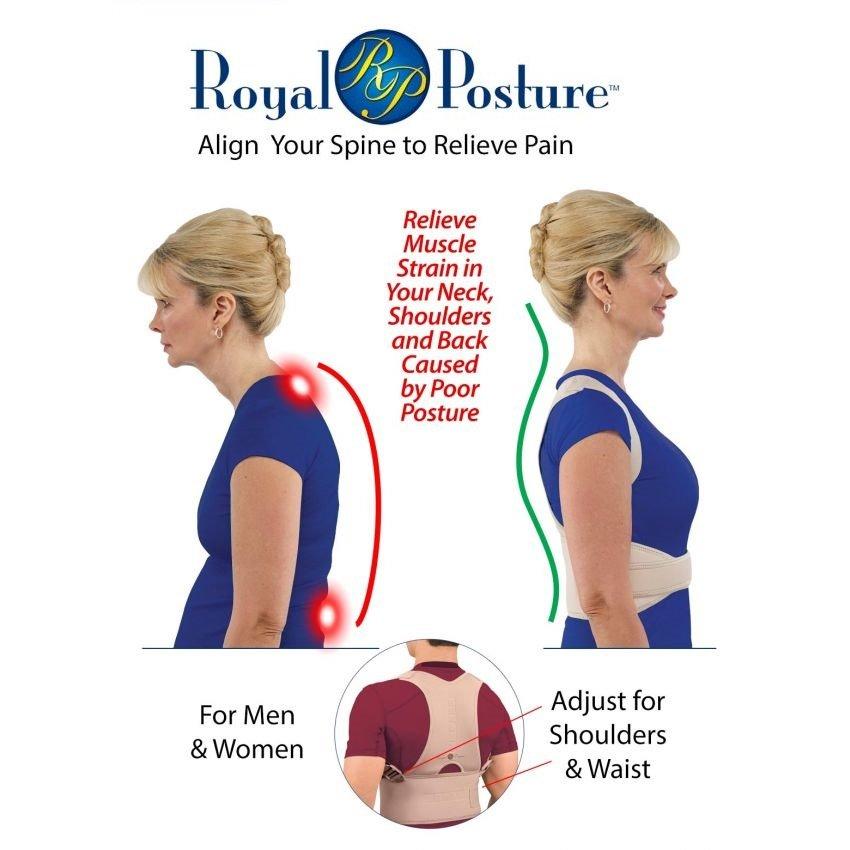 Royal Posture Back Support Belt In Pakistan