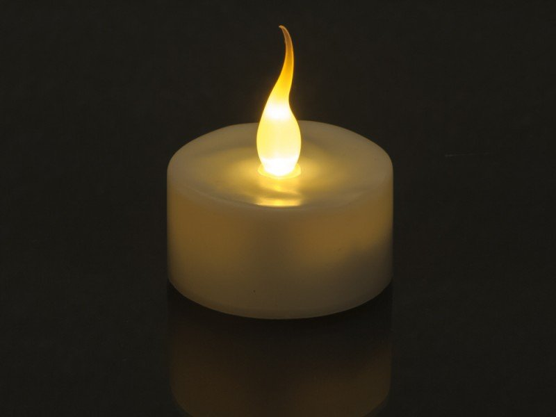 Pack of 10 LED Tealight Candles with 100pcs Cell's Price in Pakistan