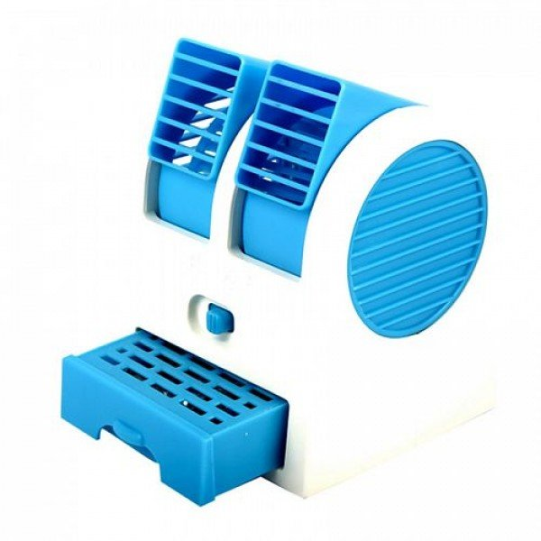 Portable Dual Bladeless USB Air Conditioner
