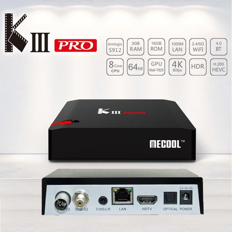Mecool KIII Pro Android Tv Octa Core in Pakistan