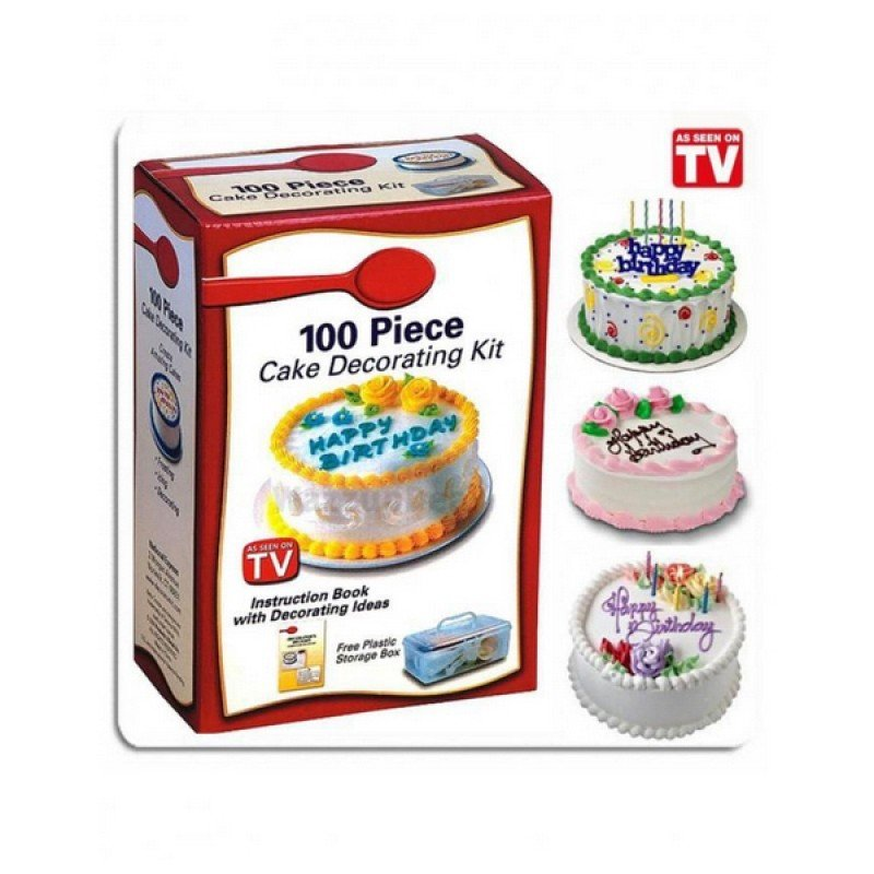 Cake Decorating Kit - White